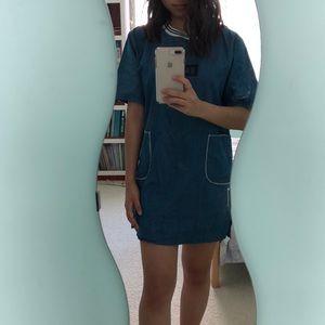 Dresses & Skirts - Kanye Dark Chambray T-shirt Dress- One Size